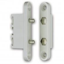 Dverový kontakt 10305, 2-pólový, kontaktové svorníky z pozinkovanej mosadze
