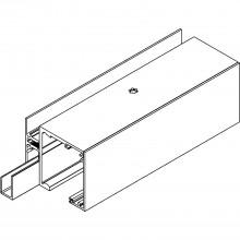 Vypĺňací profil Muto 80/150, na mieru, strieborne elox.hliník