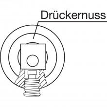 Štvorhr. guľa/kľučka so závitom M12, 140mm, šh8 mm, objímka 8,5mm pozink.