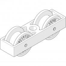 Vozík HAWA-Junior 40 pre nosnú skrutku M8