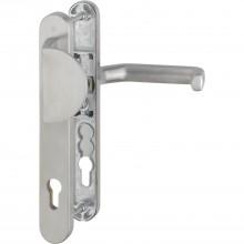 Kovanie kľučka-ploché madlo LIVERPOOL, dlhý štítok, PZ94mm, 8mm, ušľ.oceľ