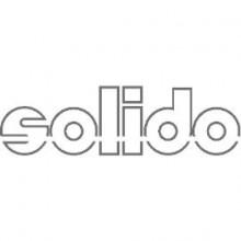 Solido sklopná šatníková tyč sivá/strieborne sivá, rozsah nastavenia 440-610 mm