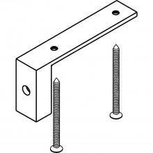 Adaptér EKU DIVIDO 100 pre podlahové vedenie drevených dverí, antracitový plast
