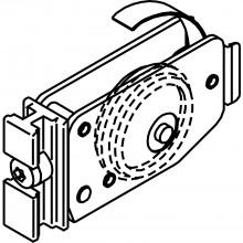 Podlahové vedenie EKU DIVIDO 100, 65 x 37 mm