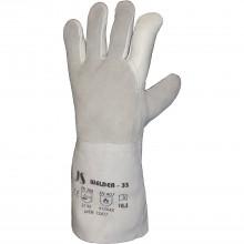 STAFFL Zváračské rukavice 5-prstové, dĺžka 35cm, veľ. 10,5 EN388/EN407 kat.II