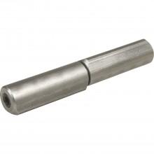 Výškovo nastaviteľný záves, výška 150mm, ø 22mm, kolík 14mm, neupr.oceľ