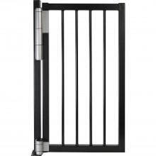 Samozatvárací bránový záves/dverový záves Mammoth 180 striebor. eloxovaný hliník