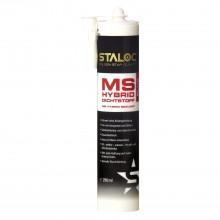 STALOC MS Hybrid Plus lepidlo/tesniaca hmota 290ml,biele