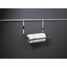 Držiak kotúčov s kuchynskými papierovými utierkami 352x260x150mm, hliník. farba