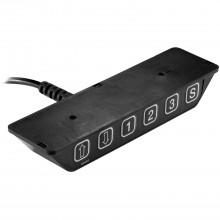 Stolová podnož BETA B/HE 5 elektricky nastaviteľná, v 688-1188mm,RAL9006