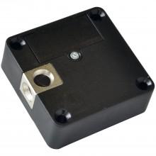 Elektronický zámok SOLIDO, voľný, 60 x 60 x 22 mm, čierny plast/zink.zliatina