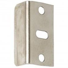 Plechové vodiace uholníky 30 x 11 x 11 mm, poniklovaná oceľ