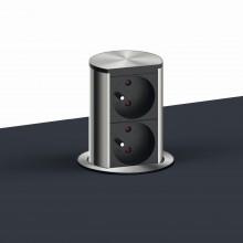 ELEVATOR HOME výsuvná zásuvková jednotka, 2x zásuvka 230 V STN/ČSN
