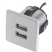 Zabudovaná USB nabíjačka 2xUSB TYP-A 5V max. 2x1,5A