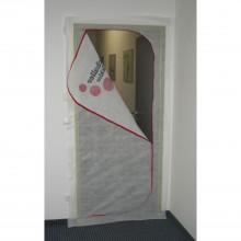 Ochranné protiprachové dvere Vlies 1,10 x 2,20 m