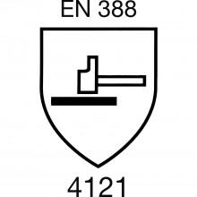 SOLIDO ochranné rukavice multi flex EN 388, veľkosť 7, kategória II
