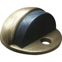Dverový nárazník - základňa ø 45mm, výška dorazu 17 mm, patinovaná mosadz