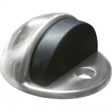 Dverový nárazník - základňa ø 45mm, výška dorazu 17 mm, chrómovaná mosadz