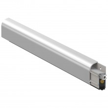 Výsuvné dverové tesnenie 1750, šírka 15 mm, výška 37,5 mm, dĺžka 1130 mm