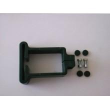 Úchyt 60x40mm, zelený