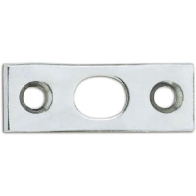 Protiplech pre dverovú zástrč, 40 x 15 x 2 mm, pozinkovaná oceľ