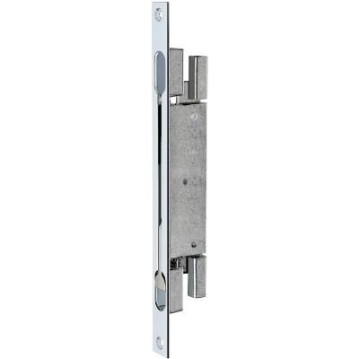 Dvojitá dverová závora, zdvih 20, 285 x 22 x 3 mm, ušľachtilá oceľ