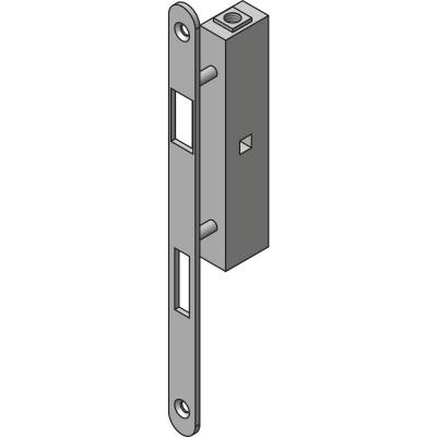 Závory Önorm SOLIDO, DM 50, zdvih 12 mm, VK 8,5 mm, pozinkované, strieborné