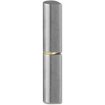 Záves na navarenie 14 x 100 mm, závesový kolík 8 mm, ušľachtilá oceľ