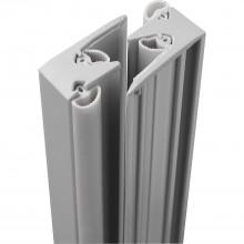 MACO HS tesniaca lišta PVC, jednotlivo, odstup krídel 28mm, dl.2500, str.plast