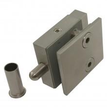 SOLIDO zaisťovacia závora spodná, s podlahovým púzdrom, platnička 50mm,ušľ.oceľ