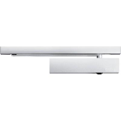 Dverový zatvárač TS 5000 ECline EN 3-5 s klznou lištou, šk do 1250mm strieborný
