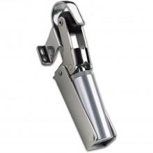Dverový zatvárač Dictator, veľkosť 2, šírka dverí – 1100 mm, poniklovaná oceľ