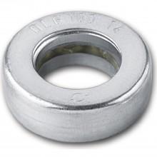 Krúžok s guľôčkovým ložiskom pre konštr.záves,pre kolík 16mm,vonk. ø27mm,pozink.