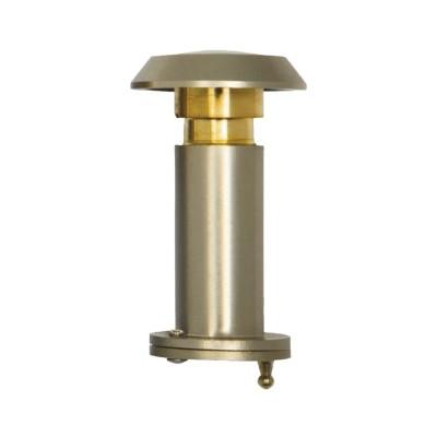 Dverový protipožiarny priezor ø 14mm, šošovka 200°, HD:35-60mm, matný nikel
