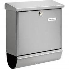 BURG poštová schránka COMFORT s boxom na noviny, ušľachtilá oceľ