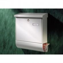 BURG poštová schránka VARIO-SET s boxom na noviny, pozinkovaná oceľ, str.farba