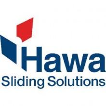 HAWA-Dorado dvojitá pojazdová koľajnica,dĺžka 6000,na mieru,prírodne elox.hliník