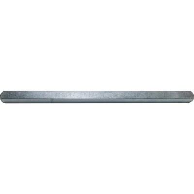 Štvorhran pre kľučku 8 x 160 mm, pozinkovaná oceľ