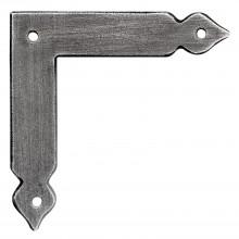 Okenný uholník 402, kované železo čiernené, voskované