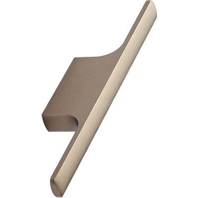 Úchytka Tau, šírka 126 mm, hliník, leštená mosadz
