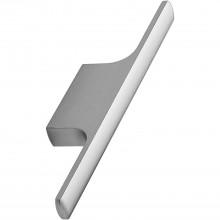 Úchytka Tau, šírka 126 mm, hliník s efektom ušľachtilej ocele