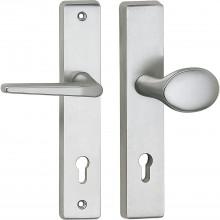 Bezp.kovanie guľa-kľučka RIVA zal.guľa,bez prekr.vl.,50x247x15 strieb.